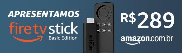 O Fire TV Stick Basic Edition permite que você acesse facilmente o conteúdo do Prime Video, Netflix, Youtube e mais de 4 mil apps e jogos, em mais de 100 países.