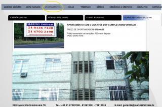 Niterói: Vendo 3/4 em Icaraí  2