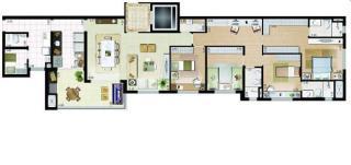 Apartamento Mobiliado em São Bernardo do Campo - Planalto