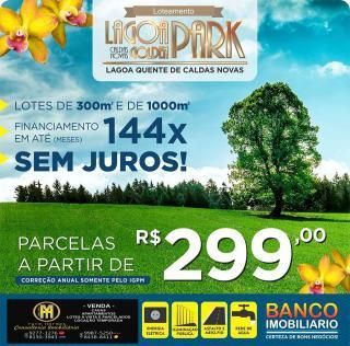 Caldas Novas: Lotes Lagoa Golden Park parceldos 1
