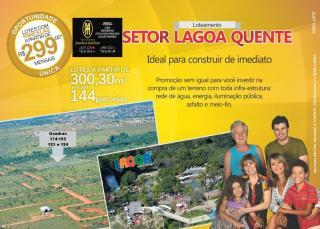 Caldas Novas: Lotes Lagoa Golden Park parceldos 3