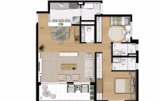 Santo André: Apartamento 91 m² Condomínio Ânima - São Bernardo do Campo  7