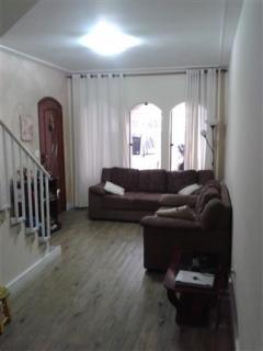 Santo André: Sobrado 160 m² em São Bernardo do Campo - Paulicéia  3