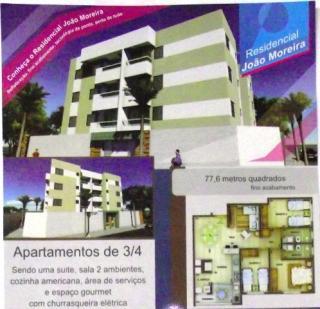 Uberlândia: Apto novo,  3/4 (1 suíte), espaço gourmet - Jd. Botânico- Cod. 289 1