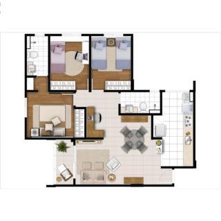 Sumaré: América residencial - apartamento em Campinas 2