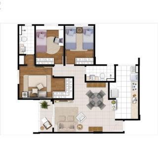 Sumaré: América residencial - apartamento em Campinas 3