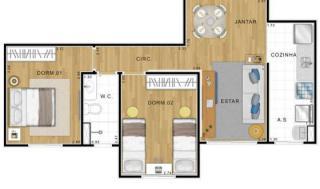 Sumaré: Figueira Residencial Clube - Apartamento em Americana 2