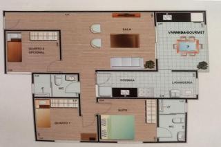 Arujá: Excelente Apartamento 85m² 3 Dorm (1 Suíte) Varanda Gourmet Arujá/SP 3