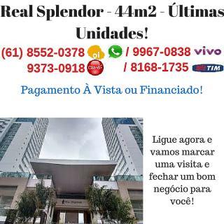 Guará: Apartamento Real Splendor - 44m2 - Últimas Unidades 1