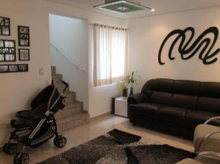 Sobrado 3 Dormitórios em Condomínio Fechado 122 m², Santo André - Jardim Stella.