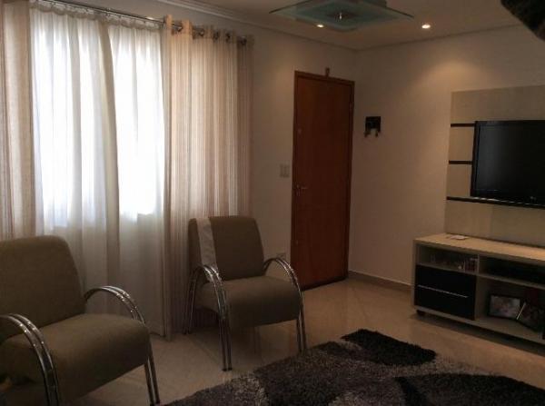 Santo André: Sobrado 3 Dormitórios em Condomínio Fechado 122 m², Santo André - Jardim Stella. 2