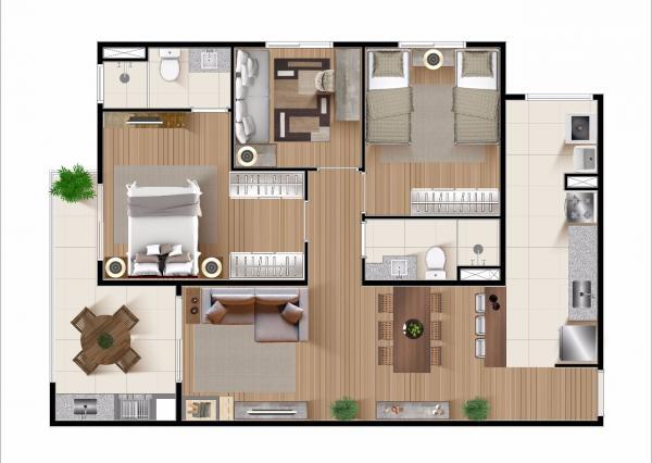 São Paulo: Apartamento 3 quartos lancamento 2020 1