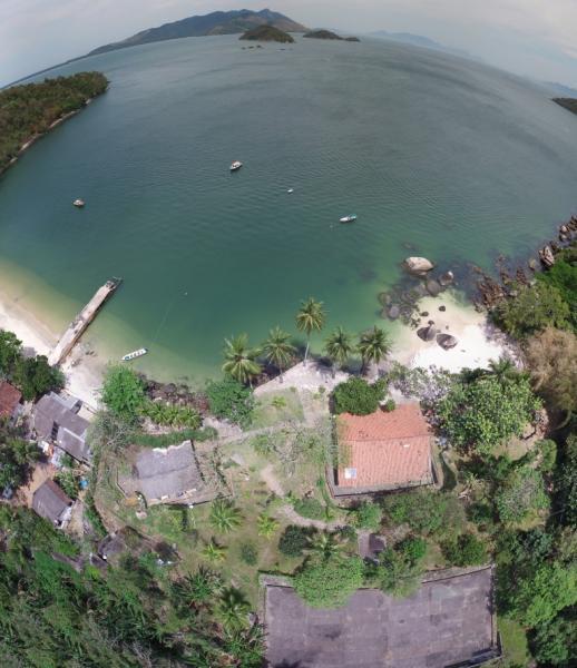 São Paulo: Bangalô 1 Suíte na Ilha Jaguanum 6