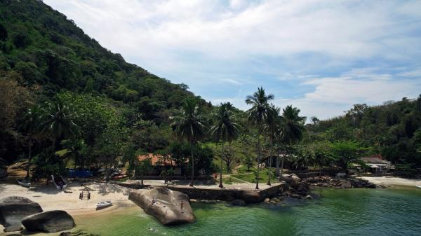 São Paulo: Bangalô 1 Suíte na Ilha Jaguanum 7