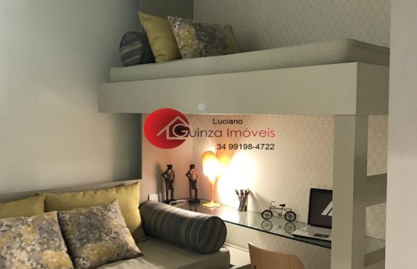 Uberlândia: Apartamento club 2 quartos 3