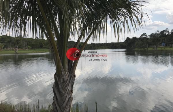 Uberlândia: chacara em condominio frente para represa 2