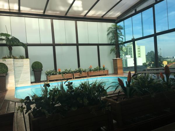 Santo André: Cobertura Mobiliada com Piscina, 1 Suíte 121 m² em São Bernardo do Campo - Jardim do Mar. 1