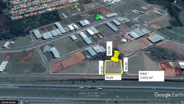 São Paulo: Excelente Terreno com Ótima Topografia na Rodovia Castelo Branco 1