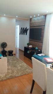 Apartamento Mobiliado 2 Dormitórios 55 m² no Fit Planalto em São Bernardo do Campo. Sala 2 ambientes com sacada, 2 dormitórios sendo 1 suíte, 1 vaga. Lazer completo! Excelente acabamento, móveis plane