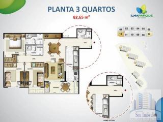 São Luis: Apartamentos 03 Quartos no Condomínio Ilha Park- Venha Morar Bem. 31