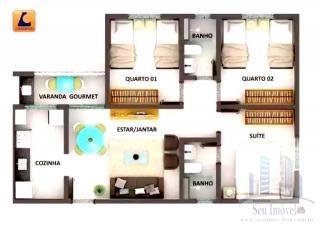 São Luis: Apartamentos 03 Quartos Em Condomínio e Lazer Completo. 9