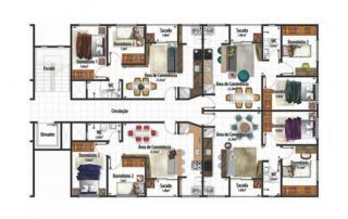 Criciúma: Residencial Villa di Monaco bairro Ana Maria cobertura a venda 6