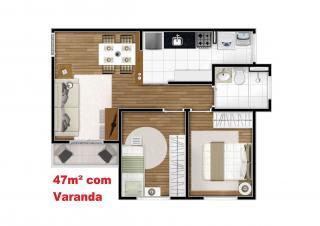 Campinas: Apartamento 2 dormitórios com varanda - Campinas 13