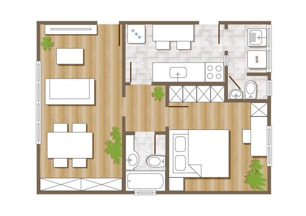 São Paulo: Apartamento Excelente com 1 Quarto e 53 m2 na Rua Bela Cintra 19