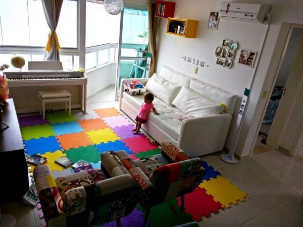São Paulo: Moderno Apartamento com 76 m2 e 2 quartos (1 suite) 2