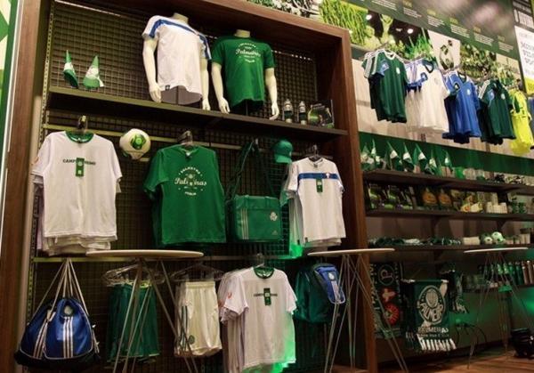Santo André: Franquia de Artigos Esportivos do Palmeiras em Shopping no ABC. 1
