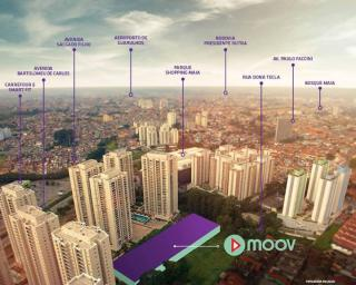 Guarulhos: MOOV Parque Maia - Últimas unid. em planta - Condições facilitadas p/ Agosto 1