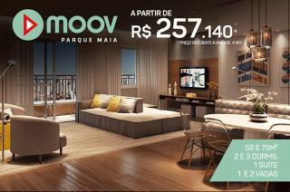 Guarulhos: MOOV Parque Maia - Últimas unid. em planta - Condições facilitadas p/ Agosto 3