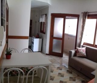 Capão da Canoa: Apartamento na Praia - 1 dormitório mobiliado no centro perto do mar - com garagem 1