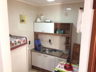 Capão da Canoa: Apartamento na Praia - 1 dormitório mobiliado no centro perto do mar - com garagem 6