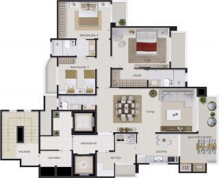 Piçarras: Apartamento frente mar em Balneário Piçarras. 12