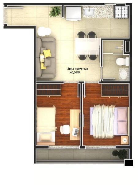 São Paulo: Lancamento Apartamentos 1 ou 2 quartos, ate 40 m2 2