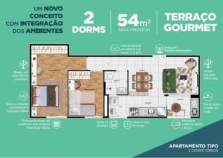 São Caetano: Novatto Residencial Lançamento Santo André Centro 2 dorms 16