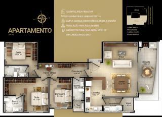 Criciúma: Alzano residencial apartamento bairro Michel 7