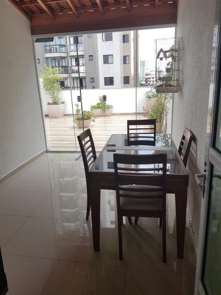Santo André: Cobertura Sem Condomínio 110 m² em Santo André - Vila Valparaíso. 10