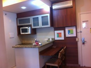 Santo André: Excelente Apartamento tipo Flat Mobiliado 1 Dormitório 40 m² em São Caetano do Sul - Bairro Barcelona. 1