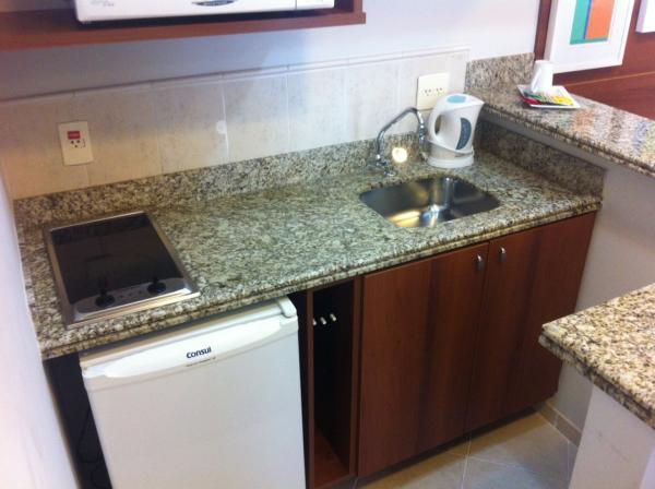 Santo André: Excelente Apartamento tipo Flat Mobiliado 1 Dormitório 40 m² em São Caetano do Sul - Bairro Barcelona. 2