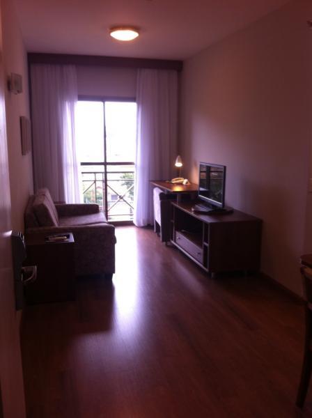 Santo André: Excelente Apartamento tipo Flat Mobiliado 1 Dormitório 40 m² em São Caetano do Sul - Bairro Barcelona. 3