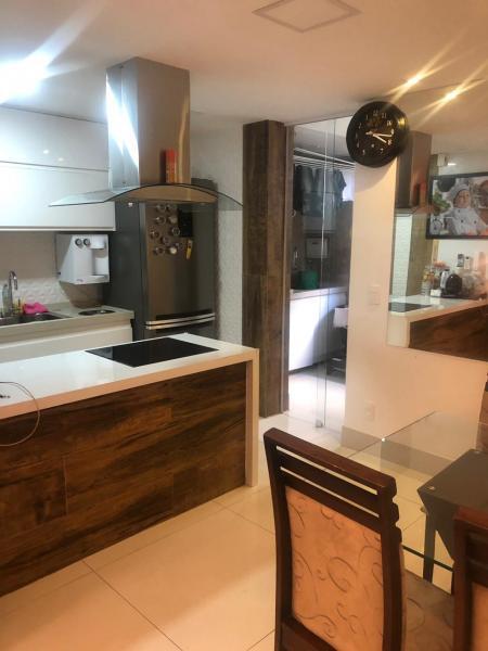 Vitória: Apartamento para venda em Jardim da Penha ES, 2 quartos, 2 suítes, 70m2, frente, armários embutidos, 1 vaga de garagem 4