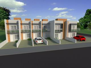 Joinville: Sobrado com 2 Dormitórios no Espinheiros 1