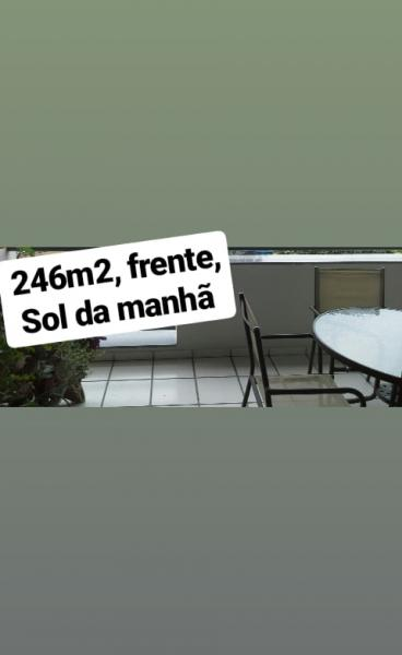 Vitória: Apartamento para venda em Jardim da Penha ES, 4 quartos, suíte, 200m2, Sol da manhã, frente, armários embutidos, 2 vagas de garagem 1