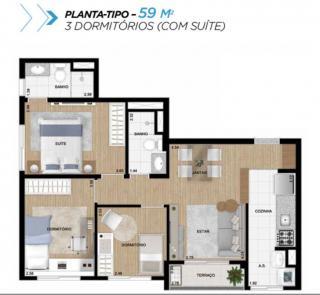 Guarulhos: Apartamento de  3 dormitórios na Liberdade 10