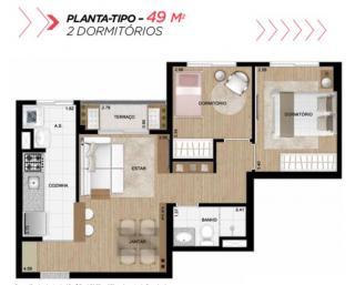 Guarulhos: Apartamento 2 dormitórios 1 vaga de garagem - Liberdade 9