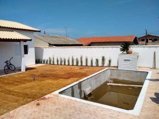 Itanhaém: Casa com piscina e churrasqueira, LOTE INTEIRO, financiamento direto com o construtor 8