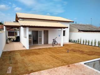 Itanhaém: Casa com piscina e churrasqueira, LOTE INTEIRO, financiamento direto com o construtor 9