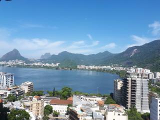 Rio de Janeiro: Alto padrão, Vista Lagoa, 184 m², 4 dorms, 2 vagas. 24